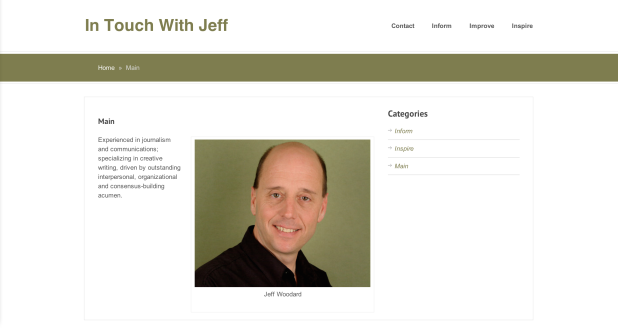 In Touch With Jeff