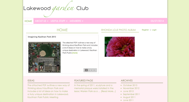 The Lakewood Garden Club